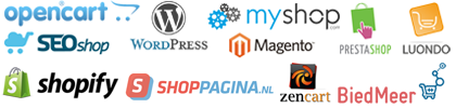 Modules voor vrijwel alle webwinkel software