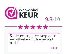 Webwinkelkeur geeft Webshop Mireille een 10