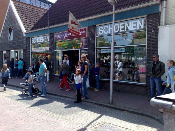 De winkel, gelegen aan de achterdijk (Purmerend).