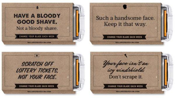 Voorbeelden van Content Marketing van de Dollar Shave Club