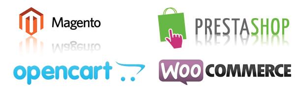 4 populaire open-source webwinkel pakketten