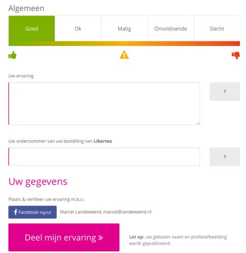 Het nieuwe beoordelingsformulier is simpeler gemaakt en toegankelijke op mobiele telefoons