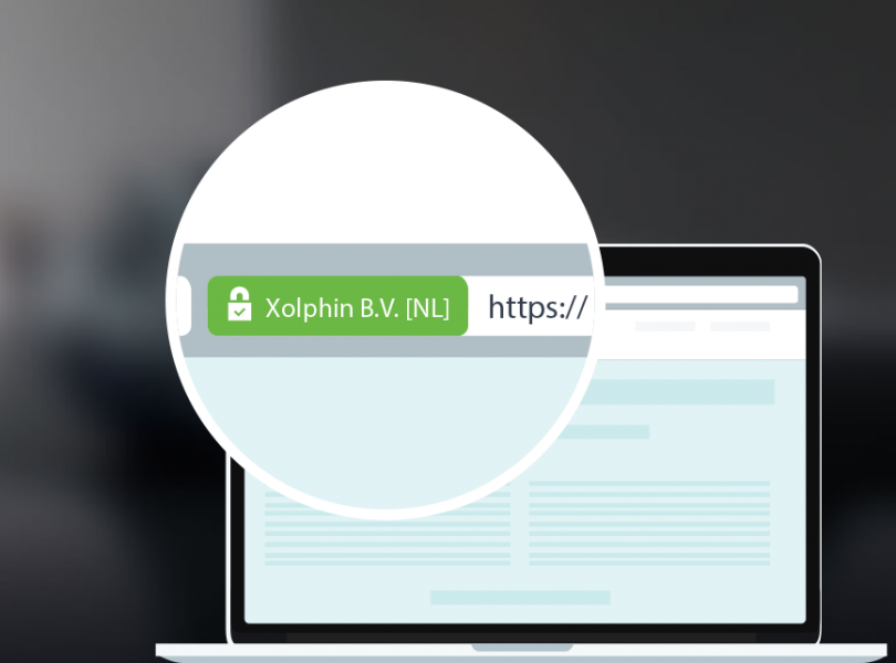 Chrome EV SSL certificaat