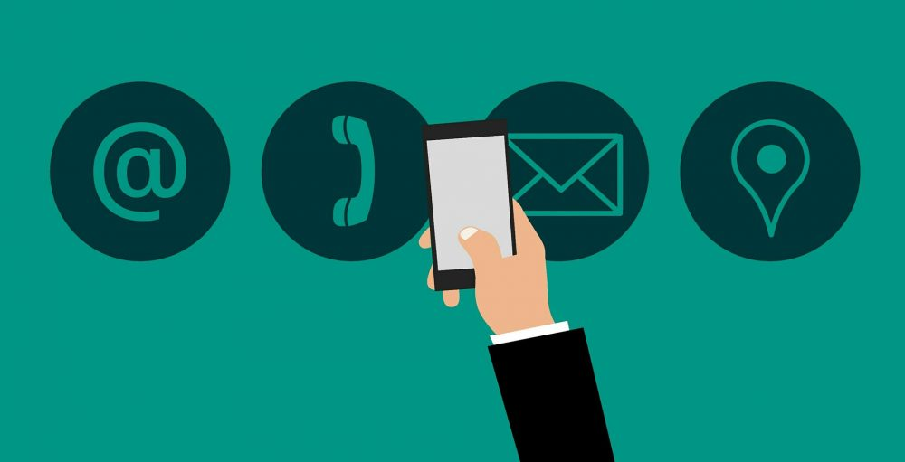 bedrijfsgegevens contactinformatie tonen webshop
