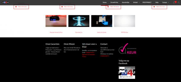 Screenshot misbruik webwinkel keurmerk