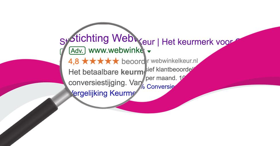 Google Seller Rating WebwinkelKeur