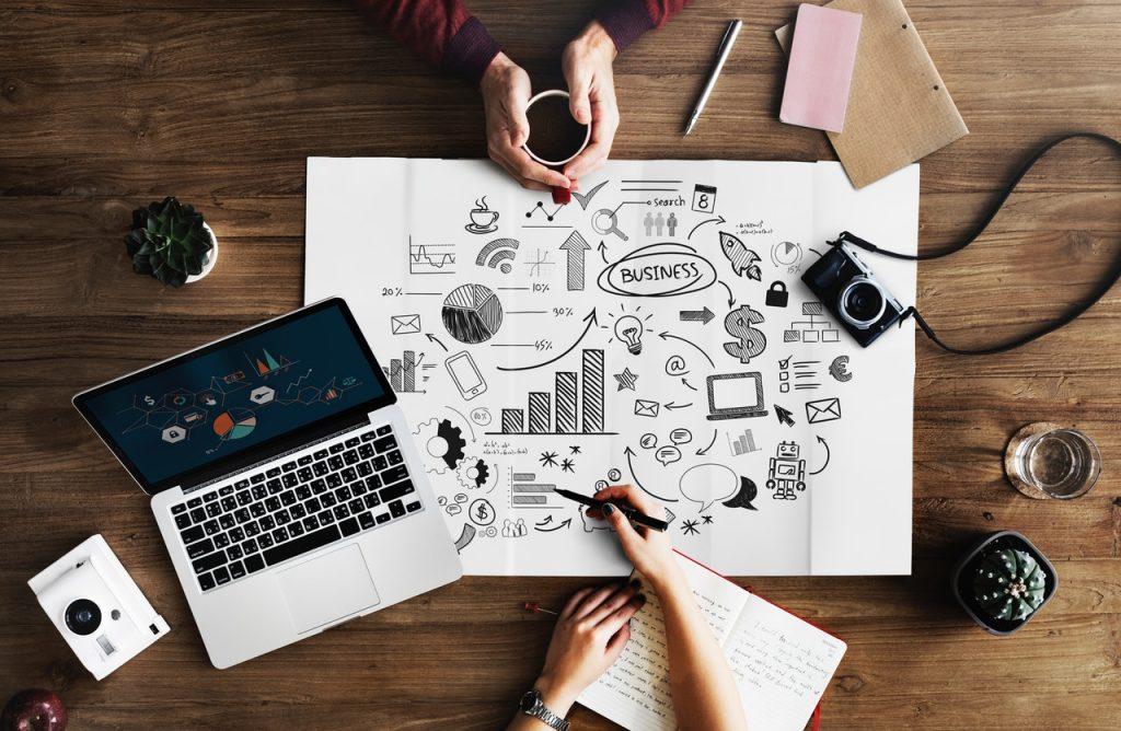 maak een bedrijfsplan voor je webshop