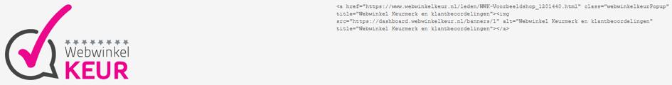 jouwweb banner webwinkelkeur