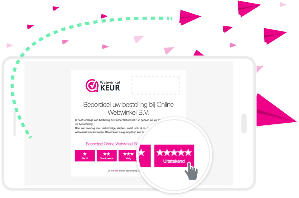 verzamel reviews beoordelingen webshop webwinkel automatisch