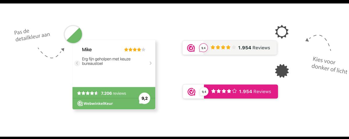 review widget webwinkelkeur